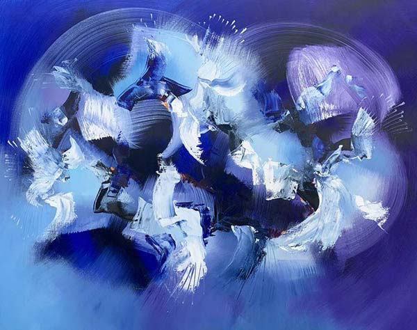 Oil On Linen Canvas Paintings by Catherine Hiller