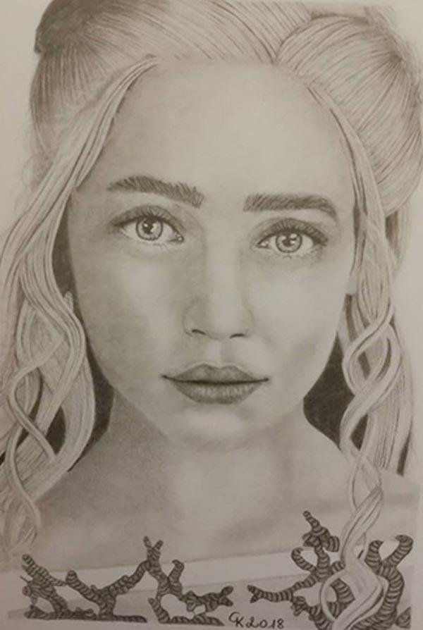 Pencil Drawings By Kattia Gobbin