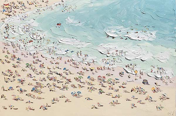 Oil paintings on canvas by Sally West