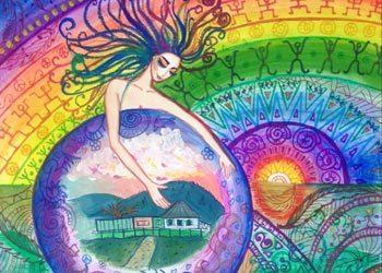 Spiritual Nature Paintings by Maria