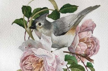 Watercolor Painting on Illustration Cards