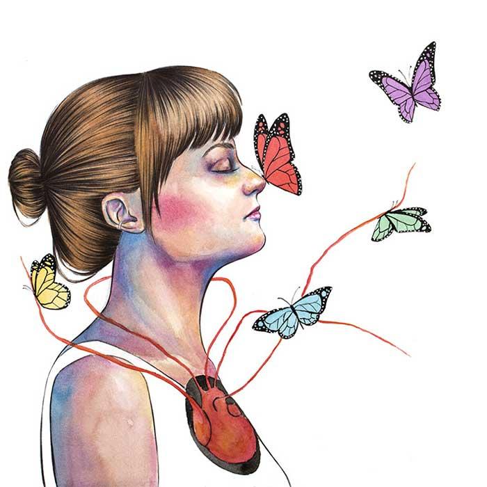 Watercolor Illustrations of Katherine Dawson