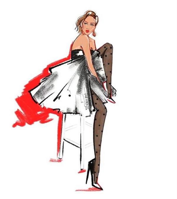 Modern Fashion Illustration sketches by VarvaraMi