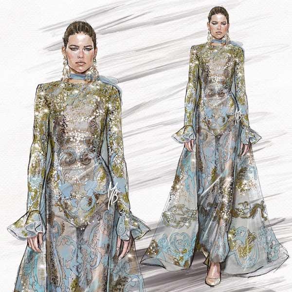 Modern Girl Fashion Illustration Trendy art Ideas