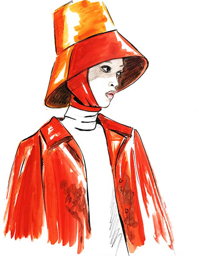 Fashion Illustration Sketches by Alisa Maxime