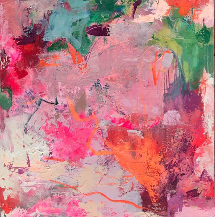 Spirited Colorist - Michelle Marra | Interior Paintings on Canvas