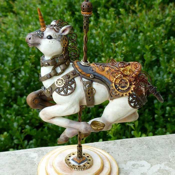 Handmade Fantasy Sculpture