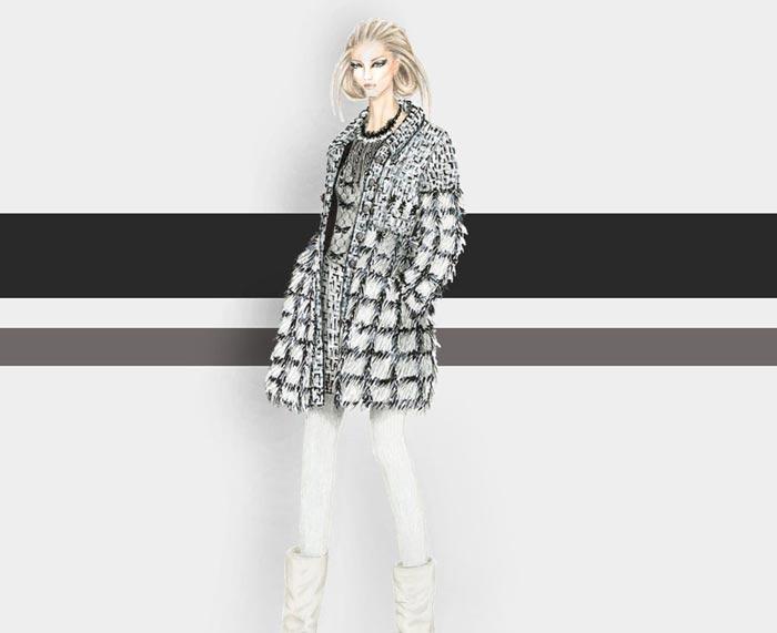 inspiring fashion illustration