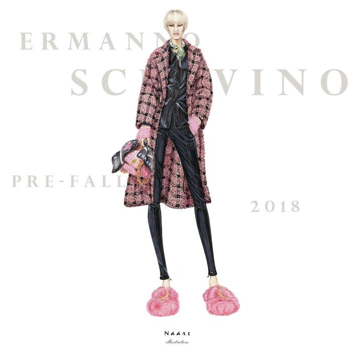 Inspiring fashion Illustrations by Natallia