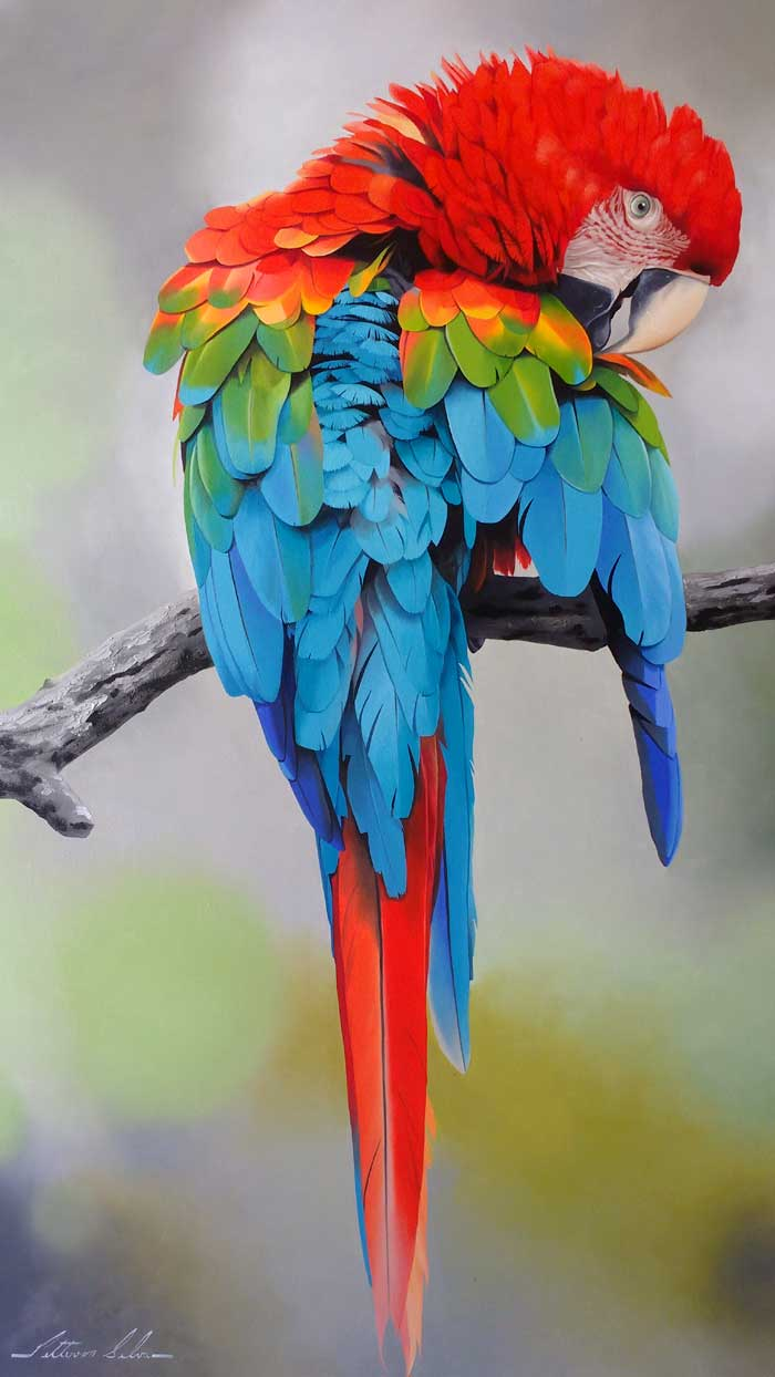 Petterson Silva - Realistic Oil Paintings of Wildlife