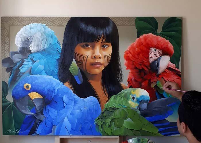 Petterson Silva - Realistic Oil Paintings of Wildlife