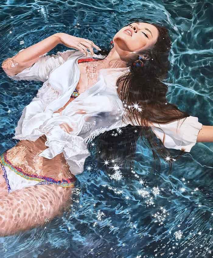 Realistic Portrait Oil Paintings by Krestniy