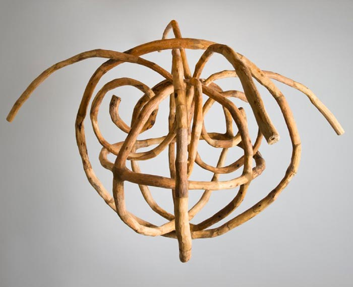Loren Eiferman - Sculptures Made from Tree Limbs and Branches