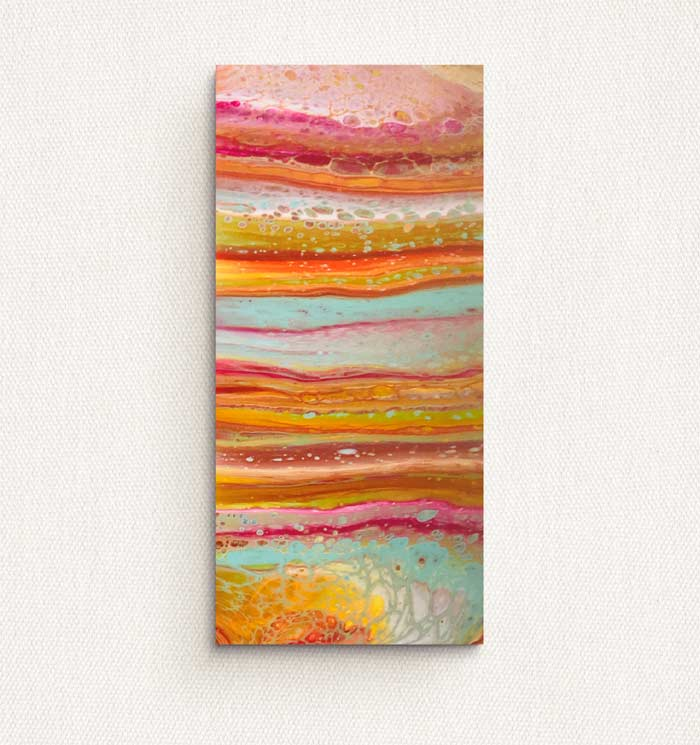 abstract wall art for living room by Lottie OMara