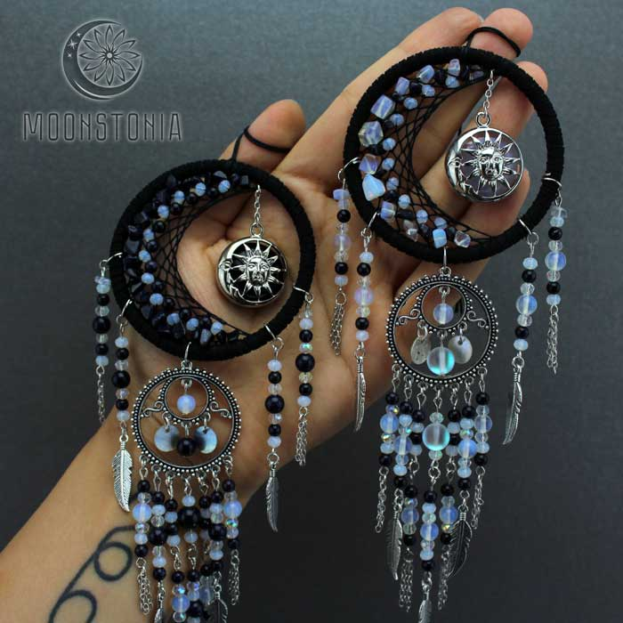 Decor Ideas - Moonstone Dream Catcher by Milena