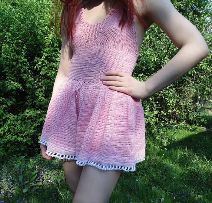 Izabela Firlova's Fashionable Crochet Dresses
