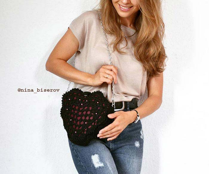 Stylish crochet bags   Nina Biserova