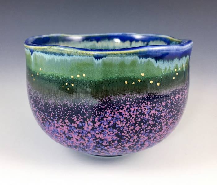 Yuying Huang Ceramics - Lavender Fields collection