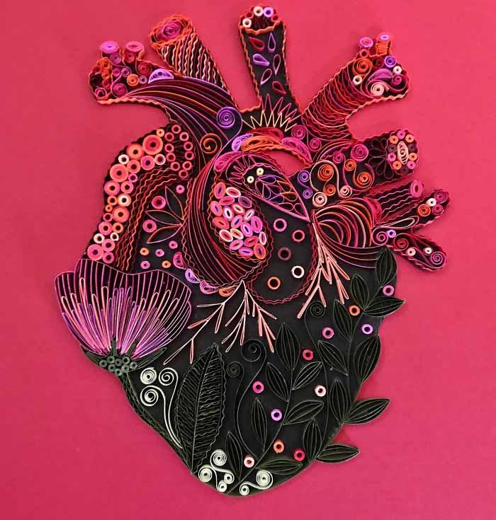 Paper Crafts - Beautiful Paper Art Quilling Designs