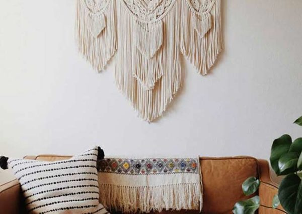Larissa Melendez's Stunning Macrame Home Decor ideas