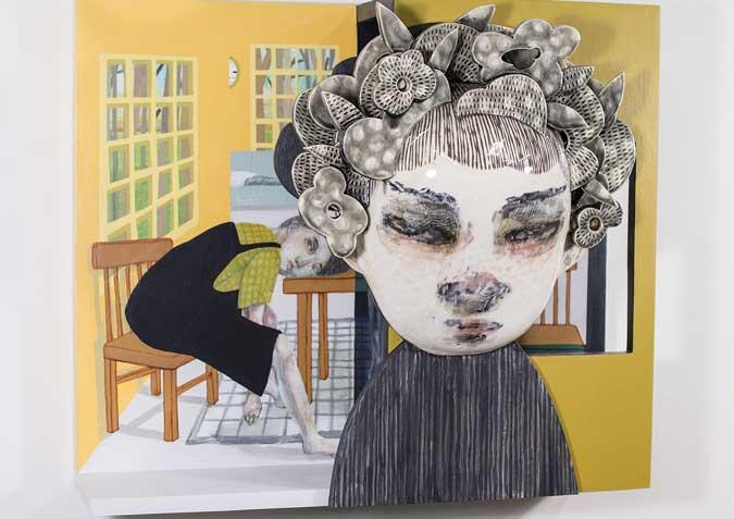 Soojin Choi's Contemporary Ceramic Sculpture Art