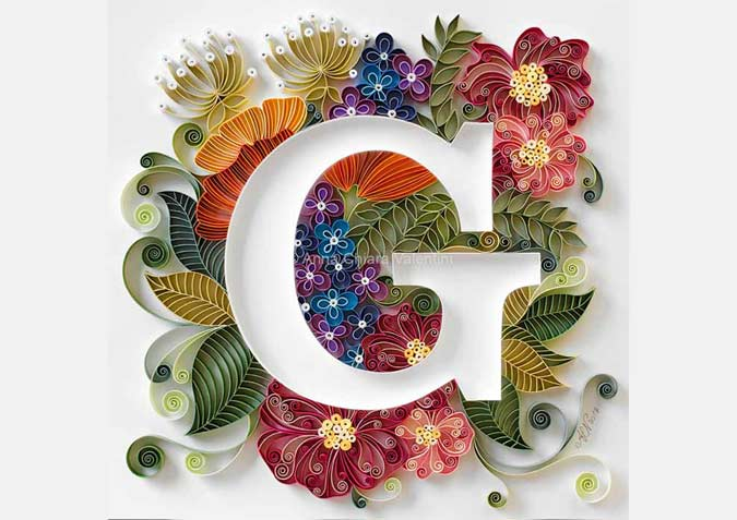 Paper Artist Creates Beautiful Quilling Art and design