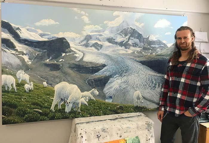 Wildlife art - Landscape art and Wildlife Paintings by Regan Johnston