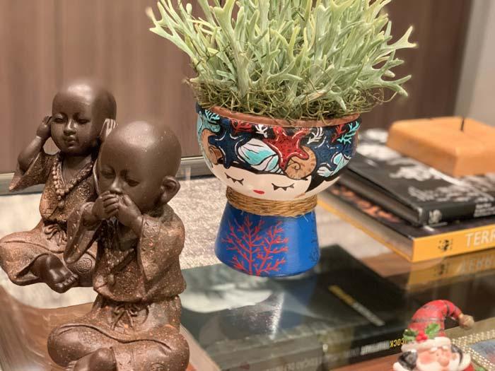 Sonia Vasseur - Decorative Ceramic Face Planter Pots, Pottery designs