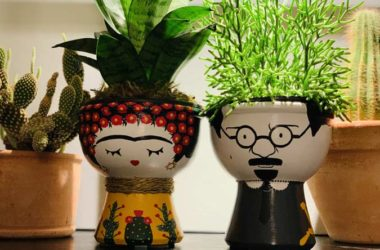 Sonia Vasseur - Decorative Ceramic Face Planter Pots, Pottery designs