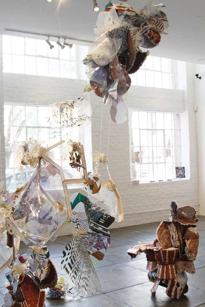 Contemporary Ceramic Sculpture Installations by Yehrim Lee