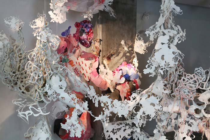 Yehrim Lee - Contemporary Ceramic Sculpture Installations