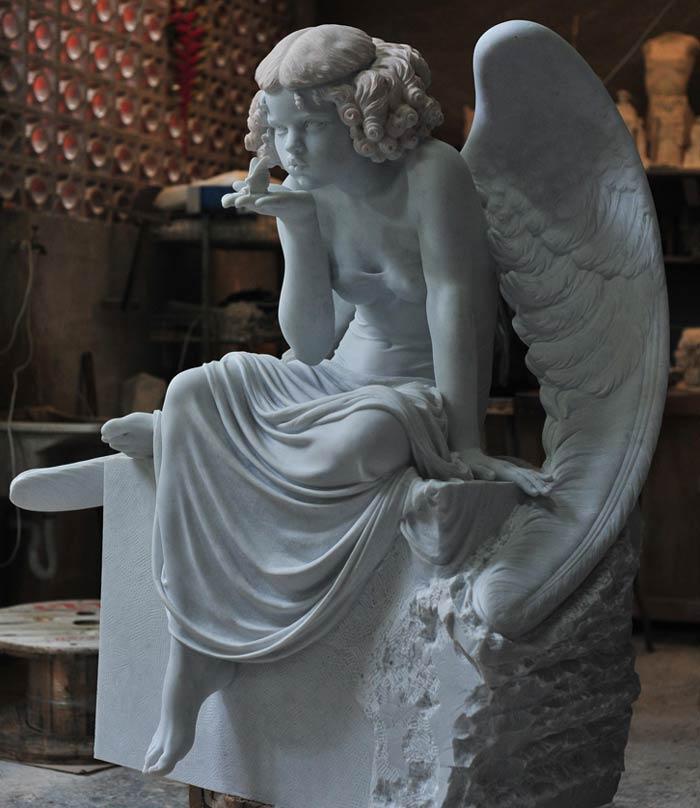 Cicero D'Avila - Hyperrealism Marble Sculptures In Feminine Form