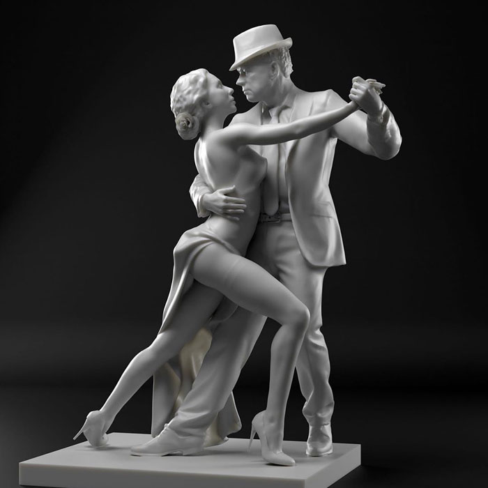 Cicero D'Avila – Hyperrealism Marble Sculptures