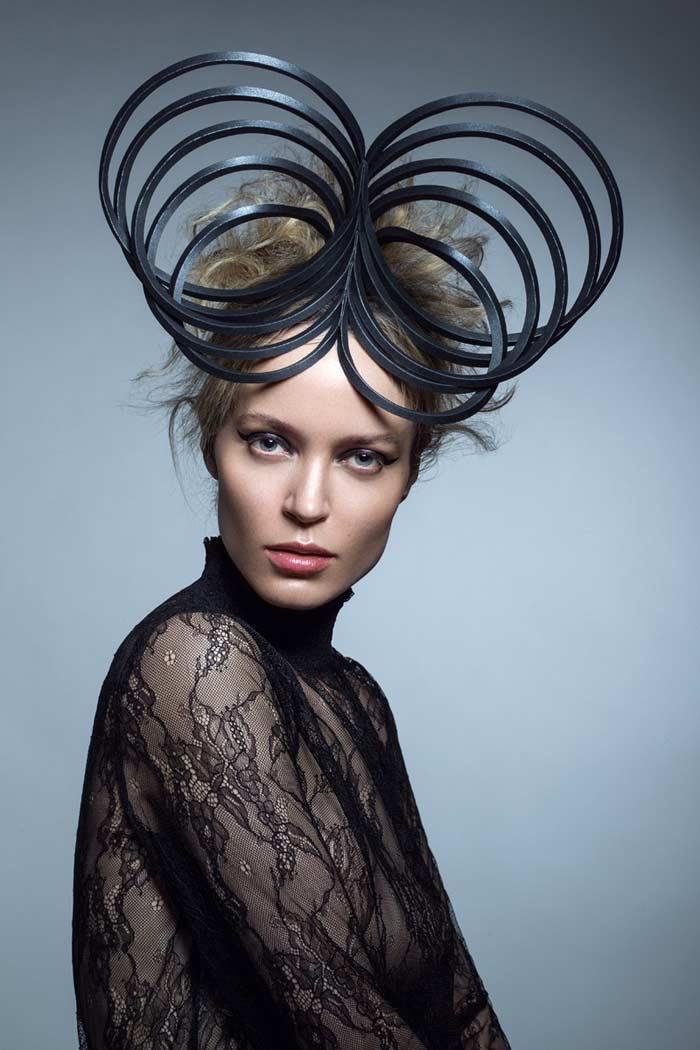 Artist Penny Chu Creates stunning headpiece