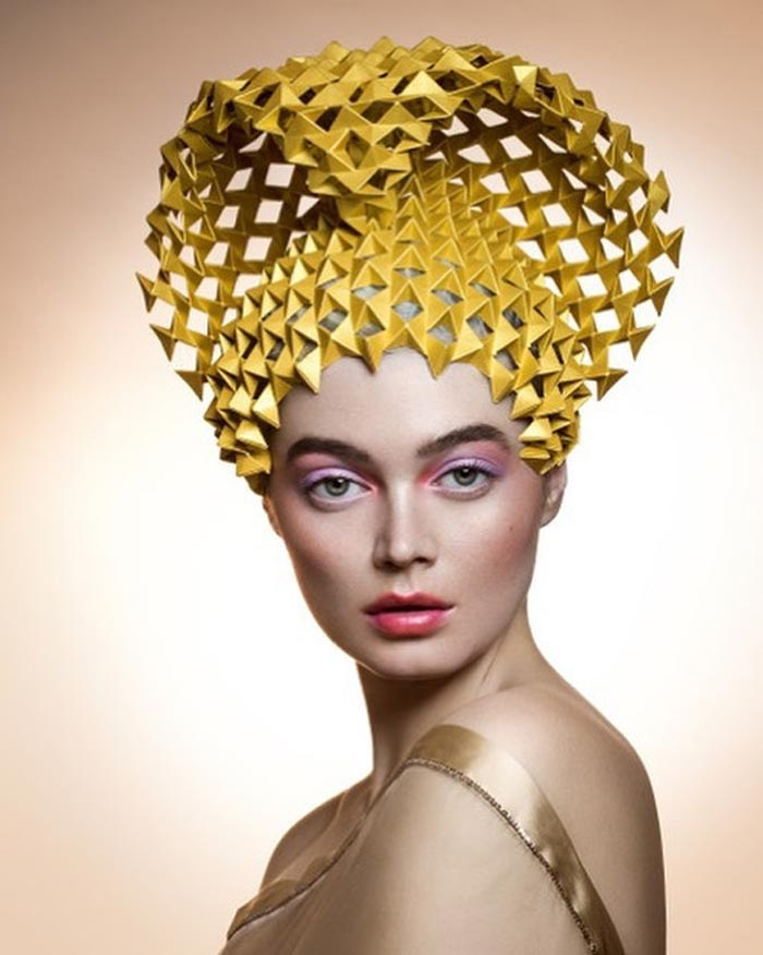 Handicraft Paper Headpiece
