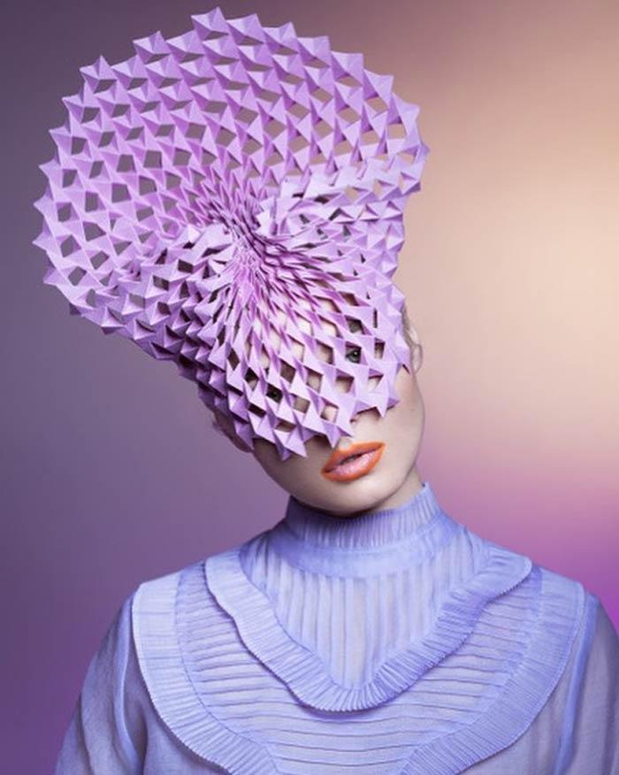 Recreate Paper Fashion Show