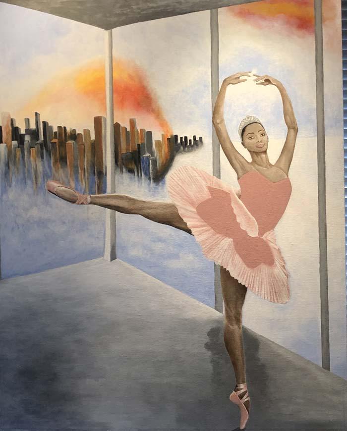 Line Mari Kristoffersen - acrylic painting ideas on canvas