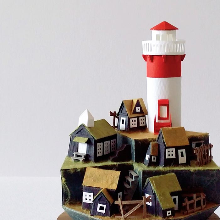 Inspired by the beautiful scenery of Faroe islands, Denmark.
