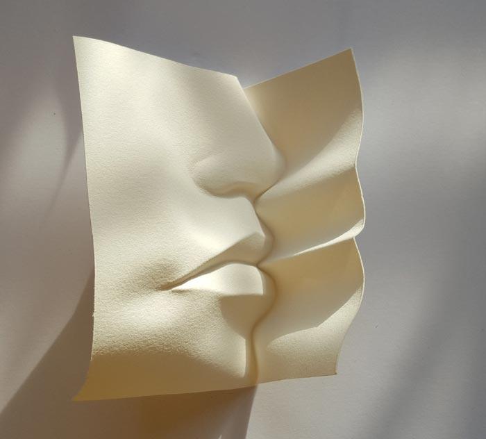 paper art Figurative Sculptural