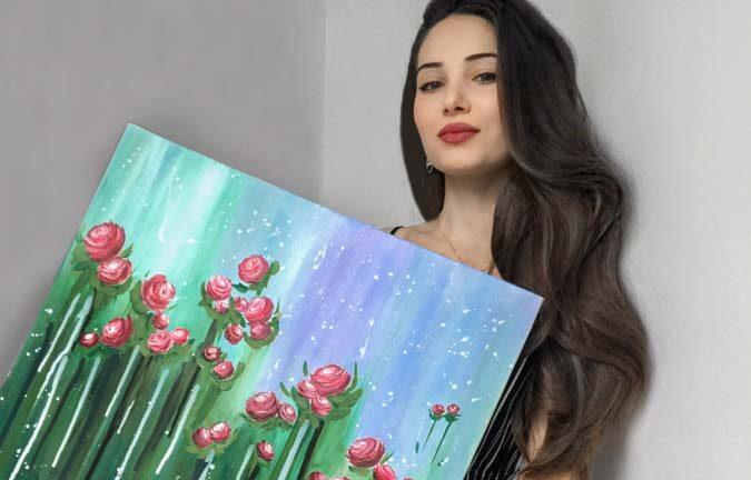 Self Taught Belgium Artist
