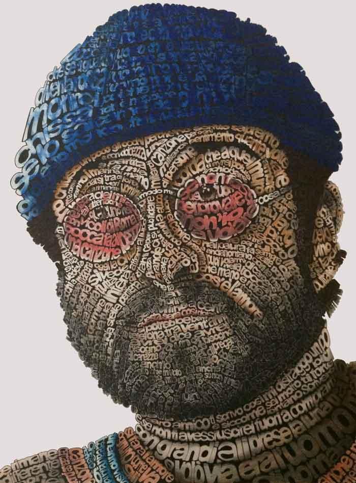 Pixel Art Portraits With Mixed Media Techniques