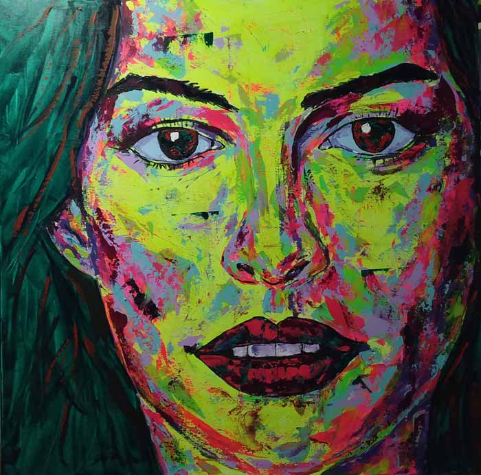 Contemporary style, Pop Art and Specialized on Portraits