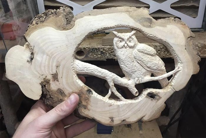 Incredible Wood Carving Arts By Using Chainsaw