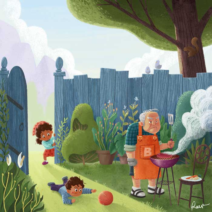 Beautiful Children's Book Illustrations by Arief Putra