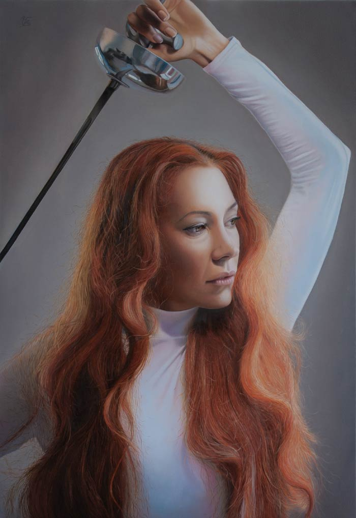 Against the nonsense hyperrealism painting