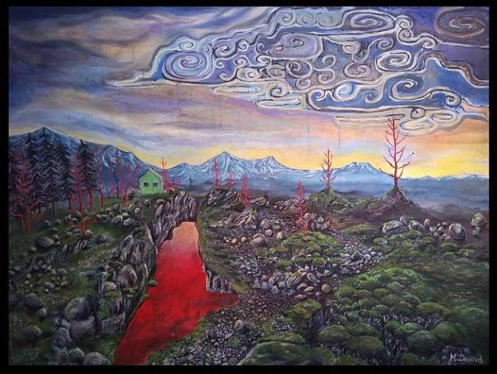 Landscape Painting Watercolor