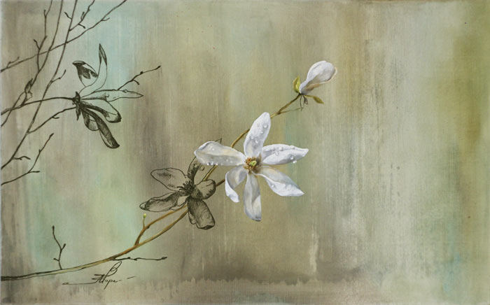 Beautiful Flower Paintings with Soft pastels