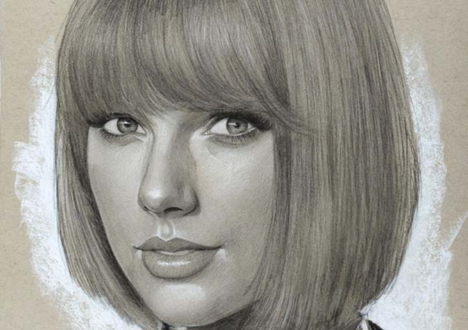 Portrait of Taylor Swift