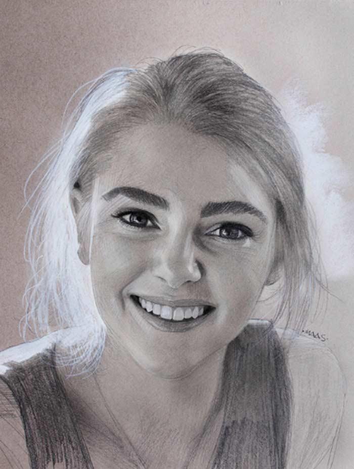 Annasophia Robb Realistic Portrait