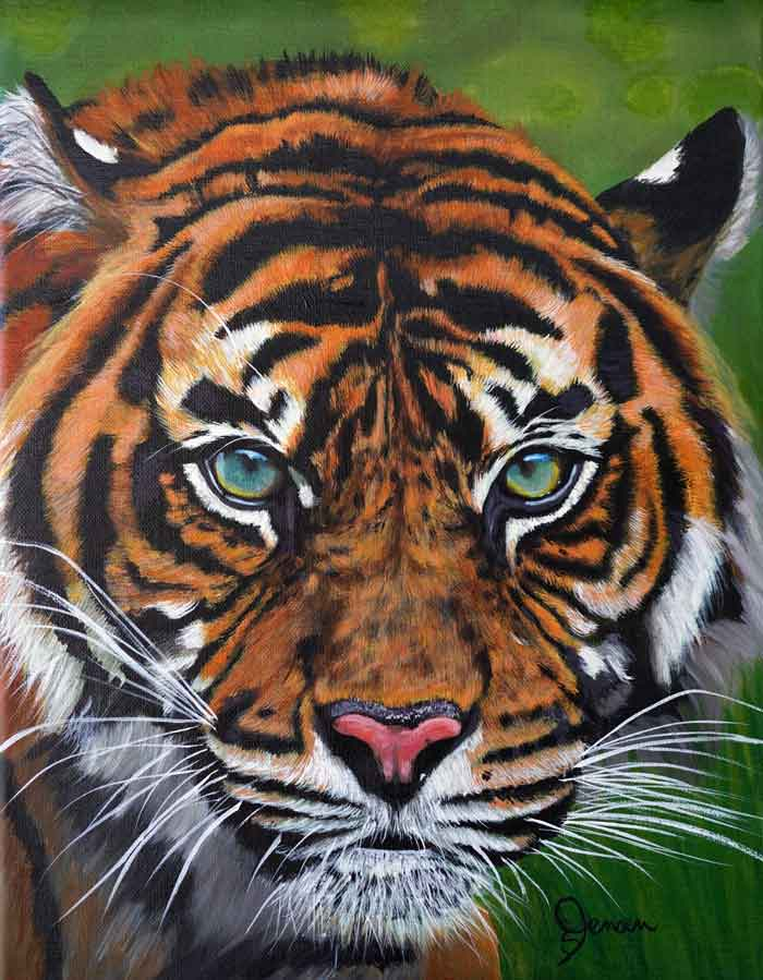 Realistic Paintings of Animals, Wildlife Art